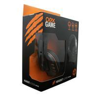 Headset Gamer Action OEX Preto/Laranja