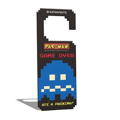 Aviso de Porta Pac Man