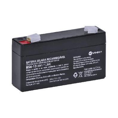 Bateria 6V 1,3A Selada Vlca Bs6-13 Bateria 6V 1.3A Selada Vlca Bs6-13