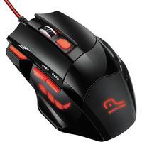 Mouse Óptico Xgamer Fire Button Usb 2400Dpi Preto E Vermelho Mo236