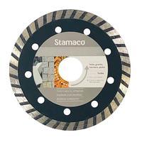 Disco Diamantado Stamaco Turbo 110mm Esmerilhadeira 110mm