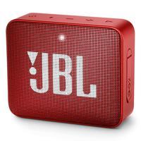 Caixa de Som Portátil JBL GO 2 com Bluetooth 3W À Prova D´água Vermelho