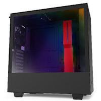 Gabinete H510i, Matte Black/Red - Ca-H510i-Br