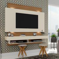 Painel com LED para TV de 65 Polegadas 2 Gavetas TB115L Dalla Costa