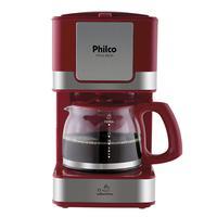 Cafeteira Philco PH16 Inox Vermelho 220V
