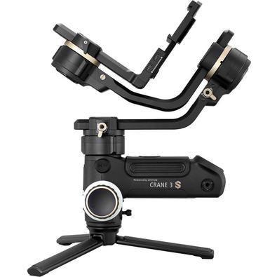 Estabilizador de Mão Gimbal Crane 3S Zhiyun-Tech para Câmeras DSLR e Mirrorless / Crane3S