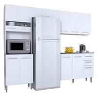 Cozinha Compacta Karina Poquema, 4 Peças, Branco