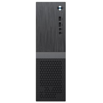 Computador Skill Slim, Intel  J1800 2,58Ghz, 4GB, HD 500GB, Monitor HDMI LED, Áudio 5.1, Preto