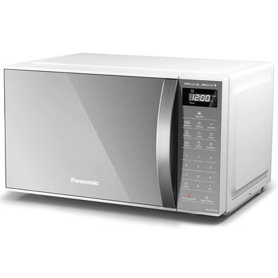 Micro-Ondas Panasonic 21L Com Desodorizador, Branco, 127V - Nn-St27lwrun