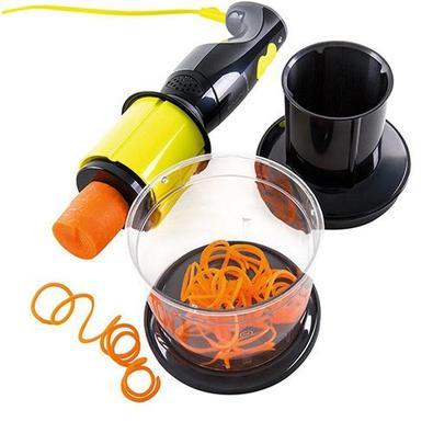 Spiralizer Cadence 2 Em 1 Mixer E Cortador Elétrico Espiral, Amarelo, 127V