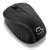 Mouse Sem Fio Multilaser, 2.4ghz, Preto - MO212