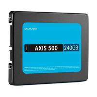 SSD Multilaser Axis 500 2.5 240Gb, Gravação 500 MB/S - SS200