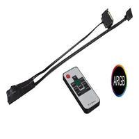 Controladora Fan Argb + Controle Remoto Gamemax - Rmt163n