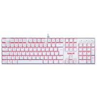 Teclado Mecânico Gamer Redragon Mitra, Switch Outemu Blue, LED, ABNT2, Branco - K551W (BLUE)