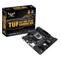 Placa Mãe Asus H310M-Plus Gaming P/ Processador Intel (9ª/8ª Geração), LGA 1151, DDR4, mATX