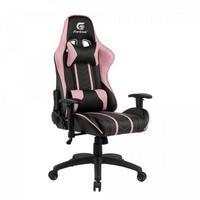 Cadeira Gamer Fortrek Black Hawk, Suporta até 140Kg, Preta/Rosa