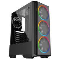 Computador Skill PCX Gamer Intel 10ª Geração Core i3 10100F, Geforce GT 1030 2GB, 8GB DDR4 2666MHZ, HD 1TB, SSD 120GB, 500W