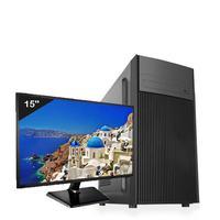 """Computador ICC Intel Core i3 3.20 GHZ, 8GB, HD 500GB, HDMI FULL HD, Monitor LED 15.4"""" - IV2381SM15"""