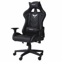 Cadeira Gamer Pro EagleX Giratória, com Ajuste de Altura, Suporta até 120Kg, Preto