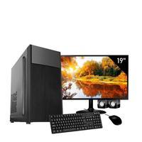 Computador Completo Corporate Asus 4° Gen I5 8gb 240gb Ssd Dvdrw Monitor 19