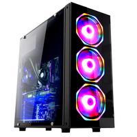 Computador Gamer Fácil Intel Core i5 9400f, 16GB DDR4, AMD Radeon RX 550 4GB, SSD 240GB, Fonte 500W