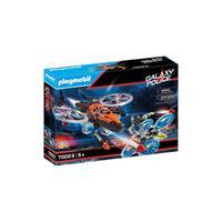 Playmobil - Piratas Galácticos Com Helicóptero