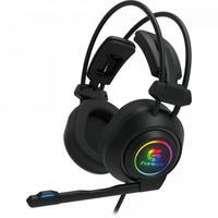 Headset Gamer Fortrek Vickers, RGB, Preto