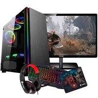 Computador Gamer Intel Core i5, 8GB, 1TB, Radeon RX 550
