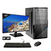 Computador Completo Icc Intel Core I3 8gb Hd 1tb Dvdrw Monitor 15