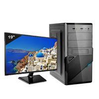 Computador Icc Iv2347dm19 Intel Core I3 Ghz 4gb Hd 240gb Ssd Dvdrw Hdmi Monitor Led 19,5