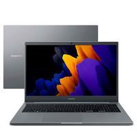 "Notebook Samsung com Processador Intel Celeron 6305, 4GB de Ram, 256GB SSD, Tela de 15.6"", Windows 10, Cinza Chumbo - Np550xda-ko3br"