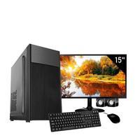 Computador Corporate I3 6gb de Ram Hd 1tb Kit Multimidia Monitor 15 Windows 10