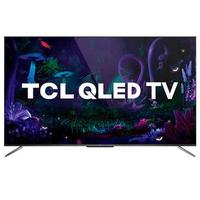 Smart Tv Tcl Qled Ultra Hd 4k 55'' Android Tv Com Google Assistant, Design Sem Bordas E Wi-fi - Ql55c715