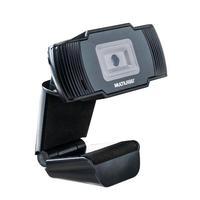 Webcam Multilaser HD 720p, 30 FPS, USB Preta, Microfone Integrado - AC339