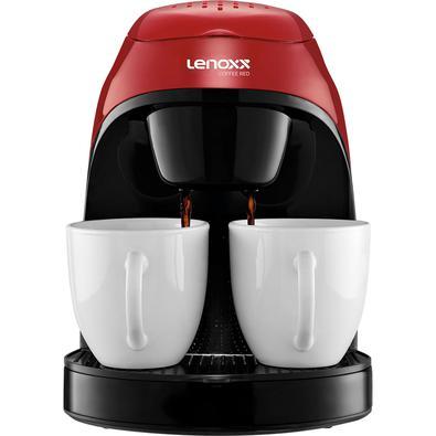 Cafeteira Lenoxx Red Coffee, 450W, 2 Xicaras, 127V - PCA031