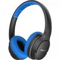 Fone de Ouvido Bluetooth Philips, Azul/Preto - Tash402bl/00
