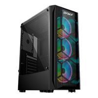 Computador Gamer Fácil Intel Core i3 10100f, 8GB, GTX 1650 4GB, HD 500GB, Fonte 500W