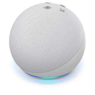 Echo Dot  Quarta Geração Smart Speaker Amazon Com Alexa Branca