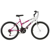 Bicicleta Ultra Bikes Aro 24 Feminina Bicolor