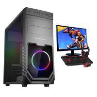 """Kit Pc Gamer Smart Pc, Intel I5, 8gb, GeForce Gtx 1650, 4gb, 1tb + Monitor 21.5"""""""