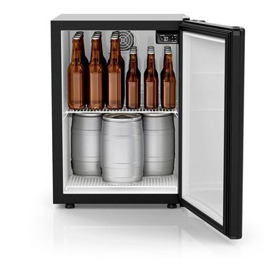 Cervejeira Vertical Esmaltec Cbe110cm Black 114 Litros 110v 110v