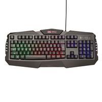 Teclado Com Fio Para Computador Gamer Com Led Knup Kp-2041