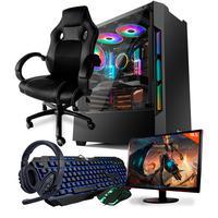 Computador Gamer Completo Neologic Start NLI81834, AMD 3000G, 16GB, Radeon Vega 3 Integrado, HD 1TB + Cadeira Gamer