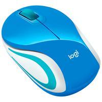 Mouse Logitech Wireless, Azul - M187