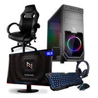 Pc Gamer Completo Smart Nli82551 Amd A6-7480 8gb (radeon R5 Integrado) Ssd 240gb 400w 80 Plus + Cadeira
