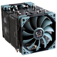 Cooler para Processador Scythe Ninja 5 AMD AM4 Intel LGA 1200 2 Fans 120mm 6 Heatpipes - SCNJ-5000