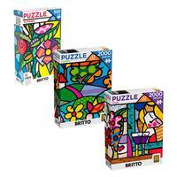 Combo Puzzles Novidades Britto Ref.3