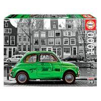 Puzzle 1000 Peças Carro Em Amsterdam - Educa - Importado
