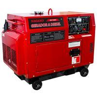 Gerador De Energia A Diesel Silenciado 6 Kva Monofásico Partida Elétrica - Nd7100es - Nagano