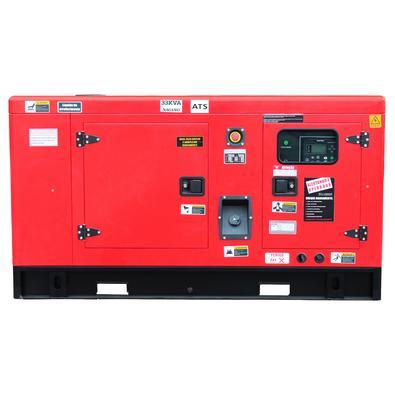 Gerador De Energia A Diesel 33kva Trifásico 220v Silenciado Com Qta - Nagano